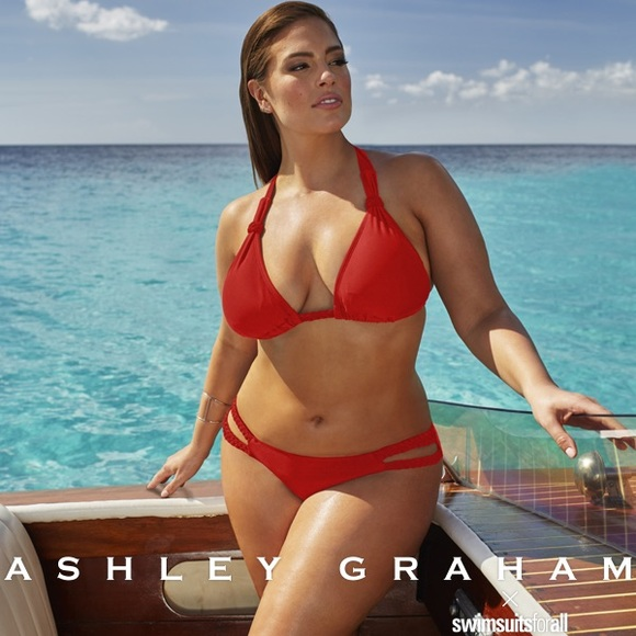 3fcc4c66a Swimsuits for All Swim | New X Ashley Graham Red Bikini | Poshmark